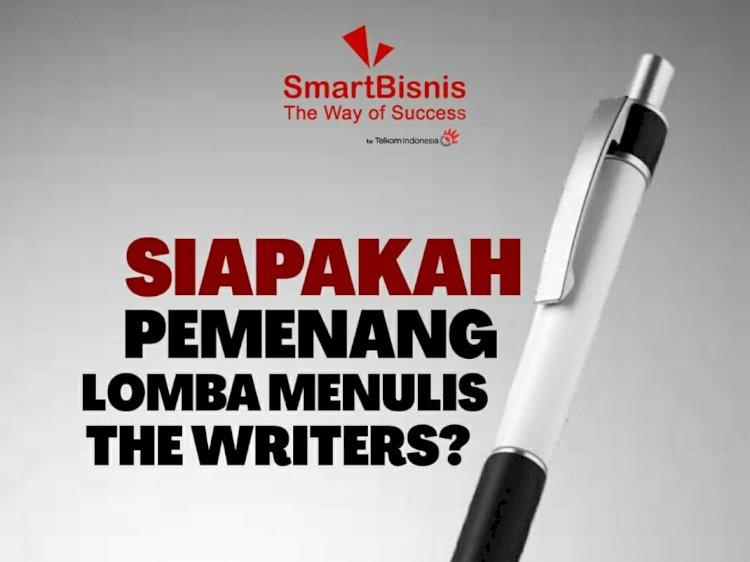 Ini dia pemenang Lomba Menulis The Writers!