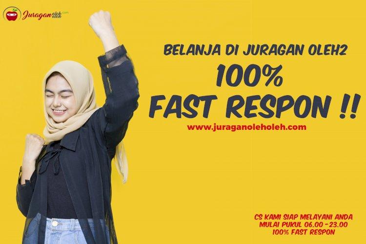 100 persen Fast Respon